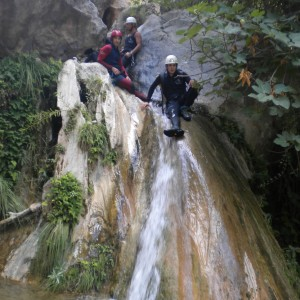 Descenso de Barranco